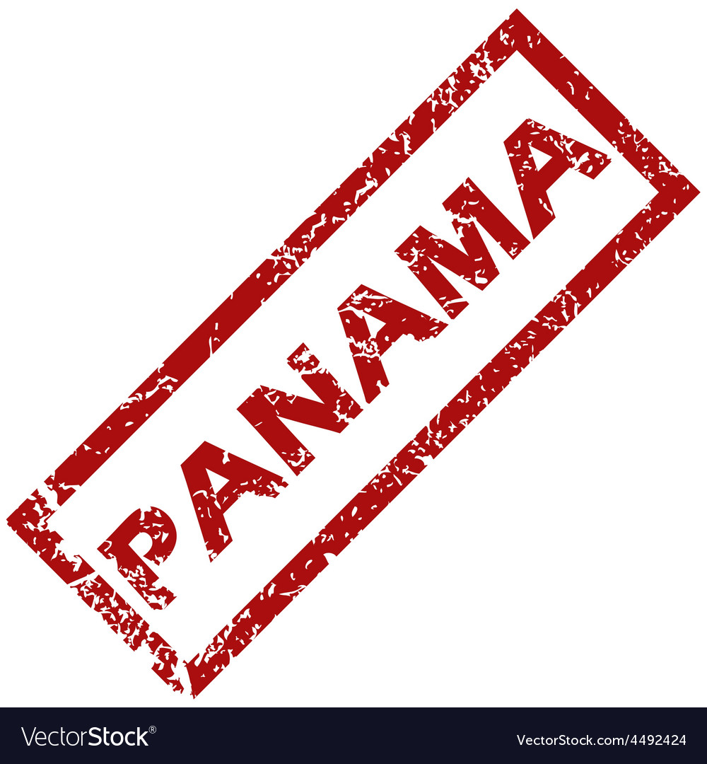 New panama rubber stamp vector | Price: 1 Credit (USD $1)