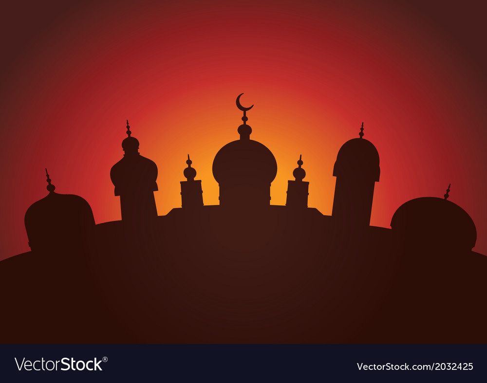 Arabian city vector | Price: 1 Credit (USD $1)