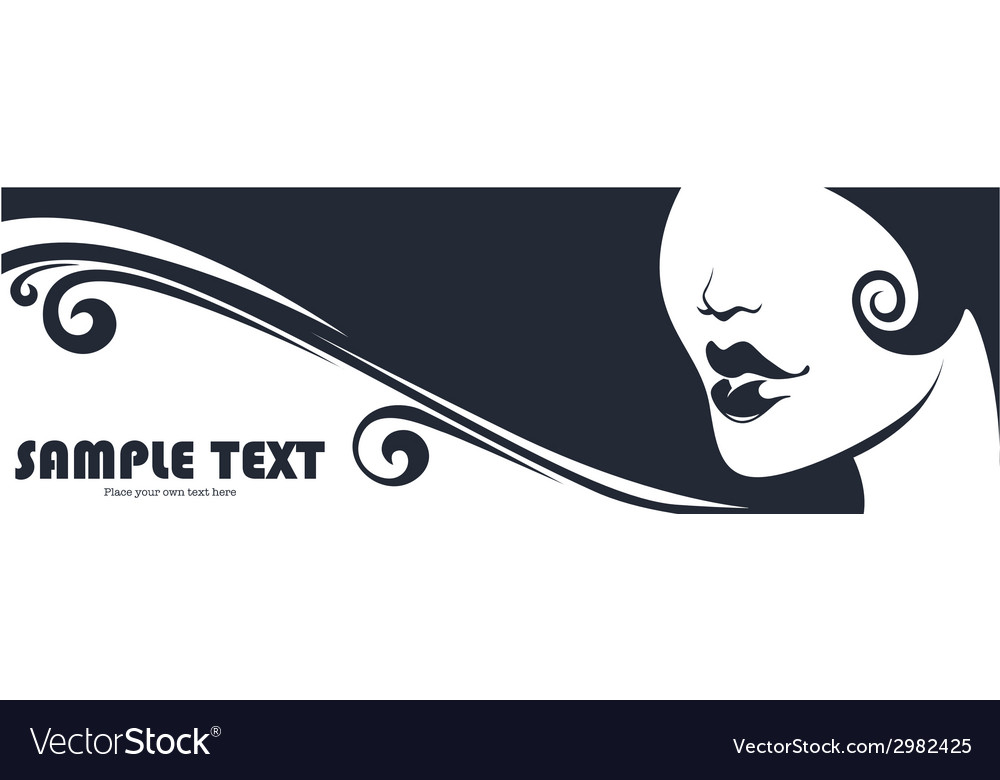 Beauty banner vector | Price: 1 Credit (USD $1)