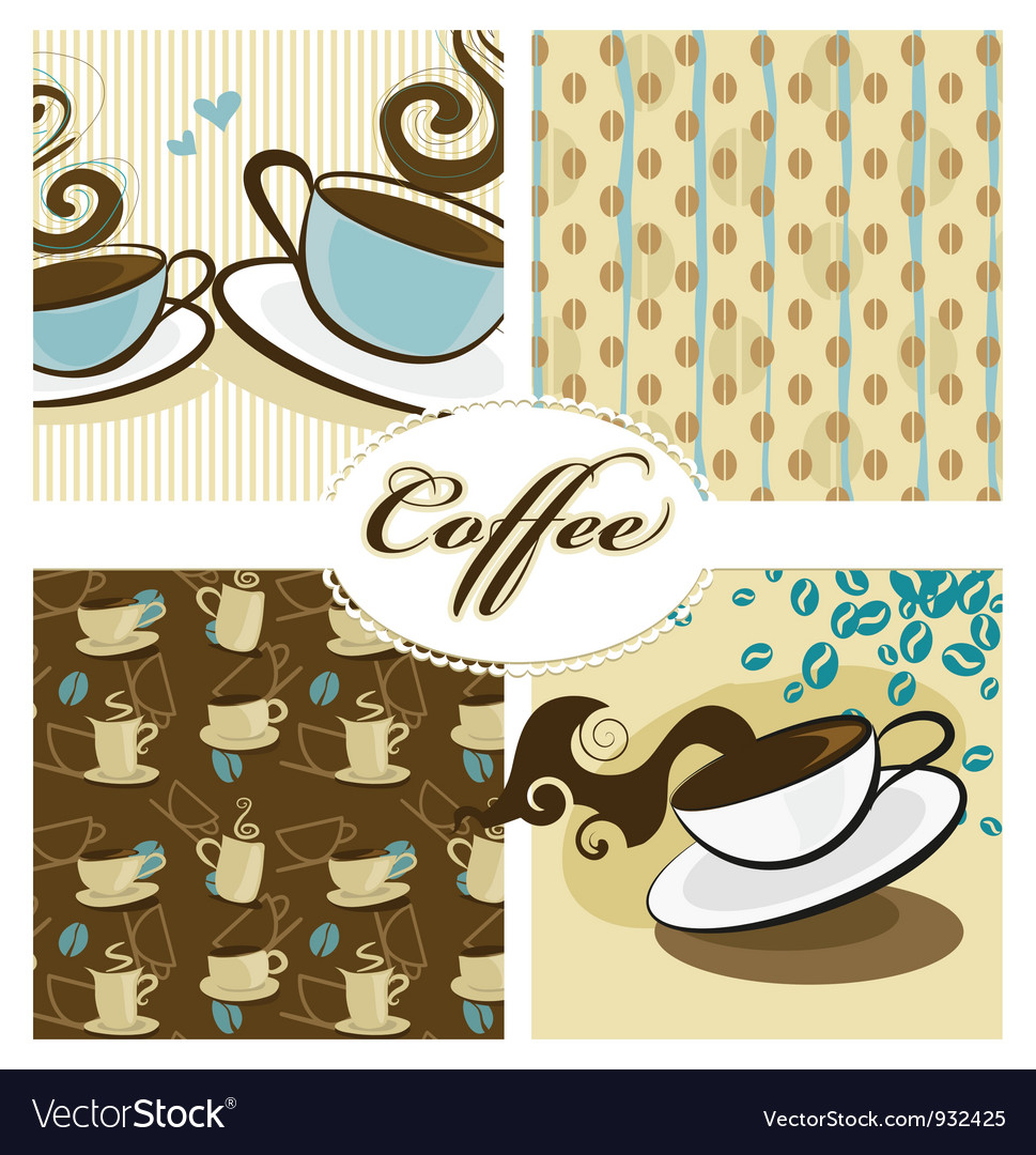 Coffee design set vector | Price: 1 Credit (USD $1)