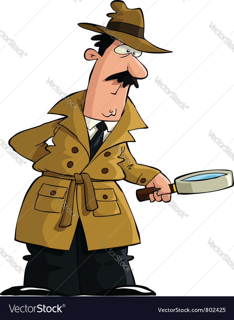 Detective vector | Price: 3 Credit (USD $3)