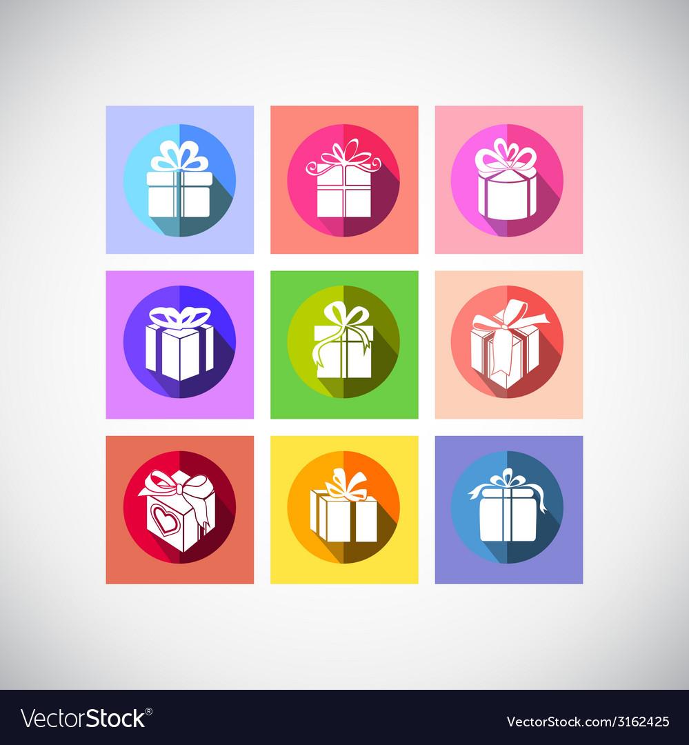 Gift box icon vector   Price: 1 Credit (USD $1)