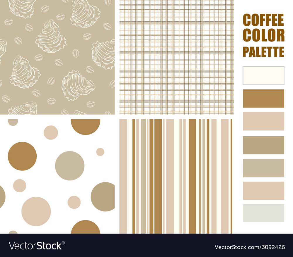 Fabric pattern set vector | Price: 1 Credit (USD $1)