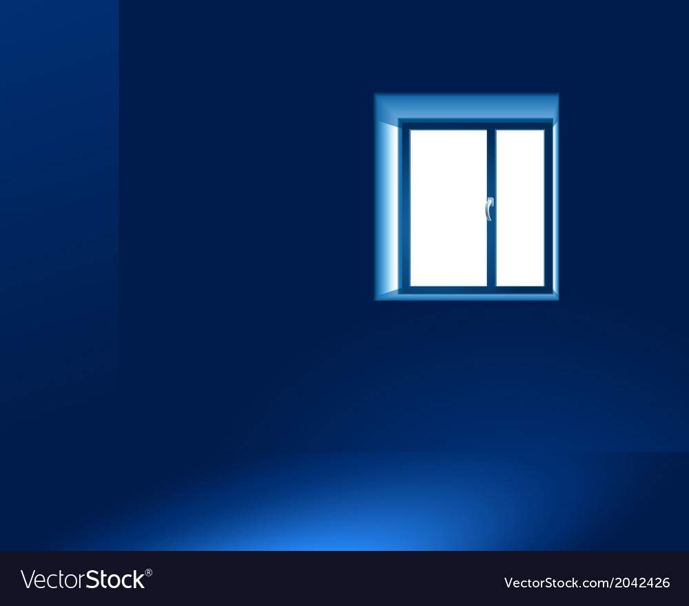 Light through a window vector | Price: 1 Credit (USD $1)