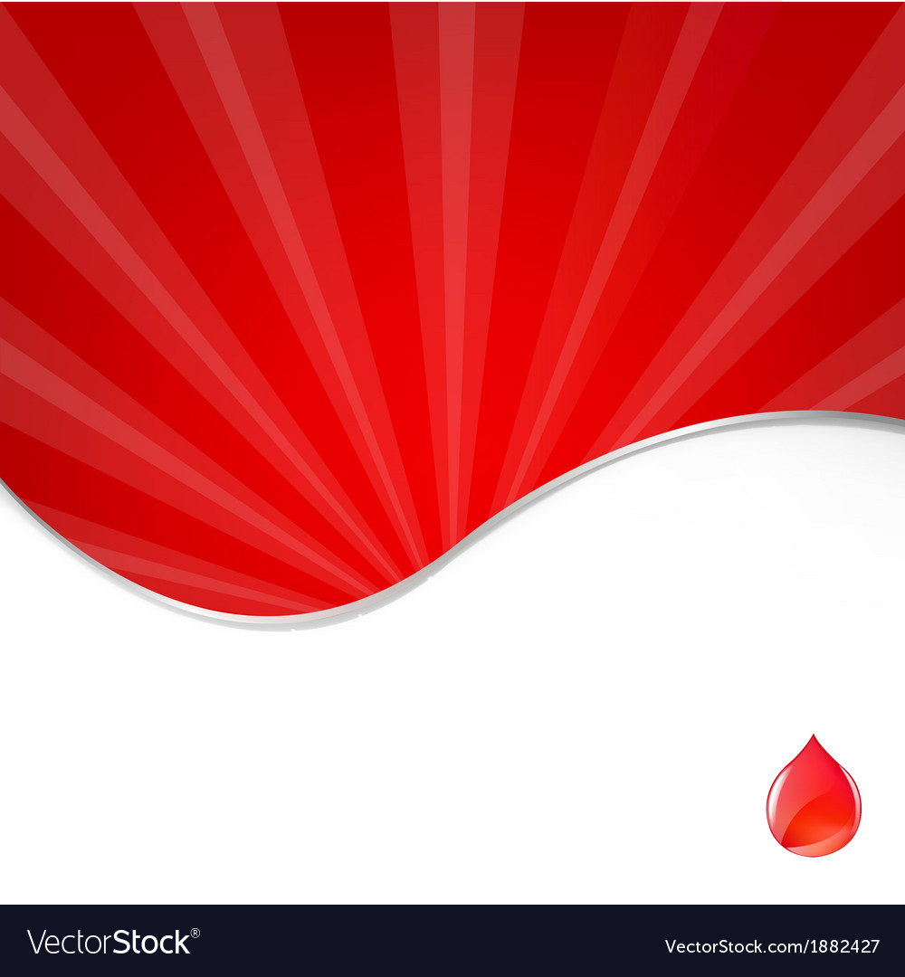 Medical background with blood drop vector | Price: 1 Credit (USD $1)