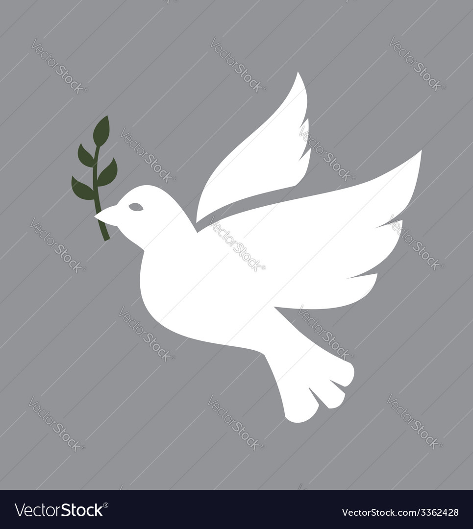 Dove icon vector | Price: 1 Credit (USD $1)