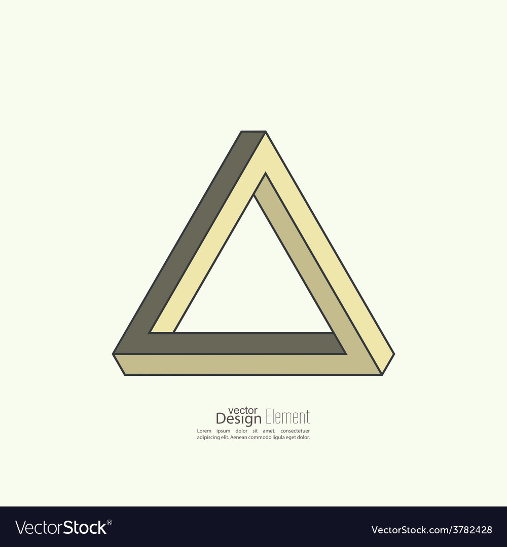Infinite looped triangle vector | Price: 1 Credit (USD $1)