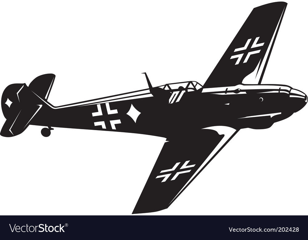 Messerschmitt bf vector | Price: 1 Credit (USD $1)