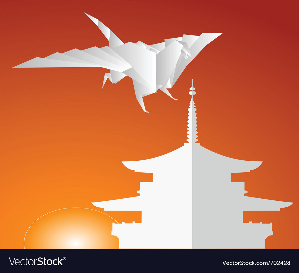 Paper dragon vector | Price: 1 Credit (USD $1)