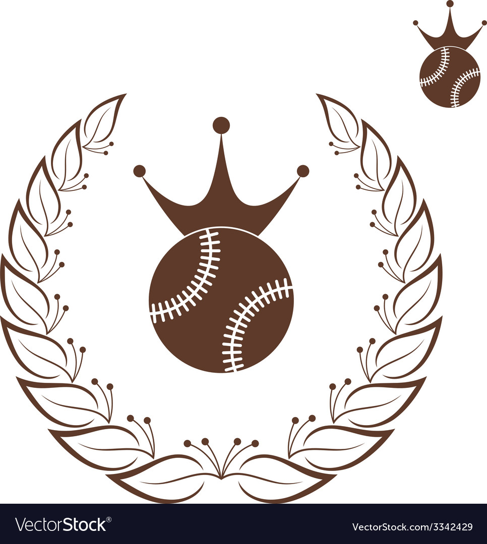 Baseball vector | Price: 1 Credit (USD $1)
