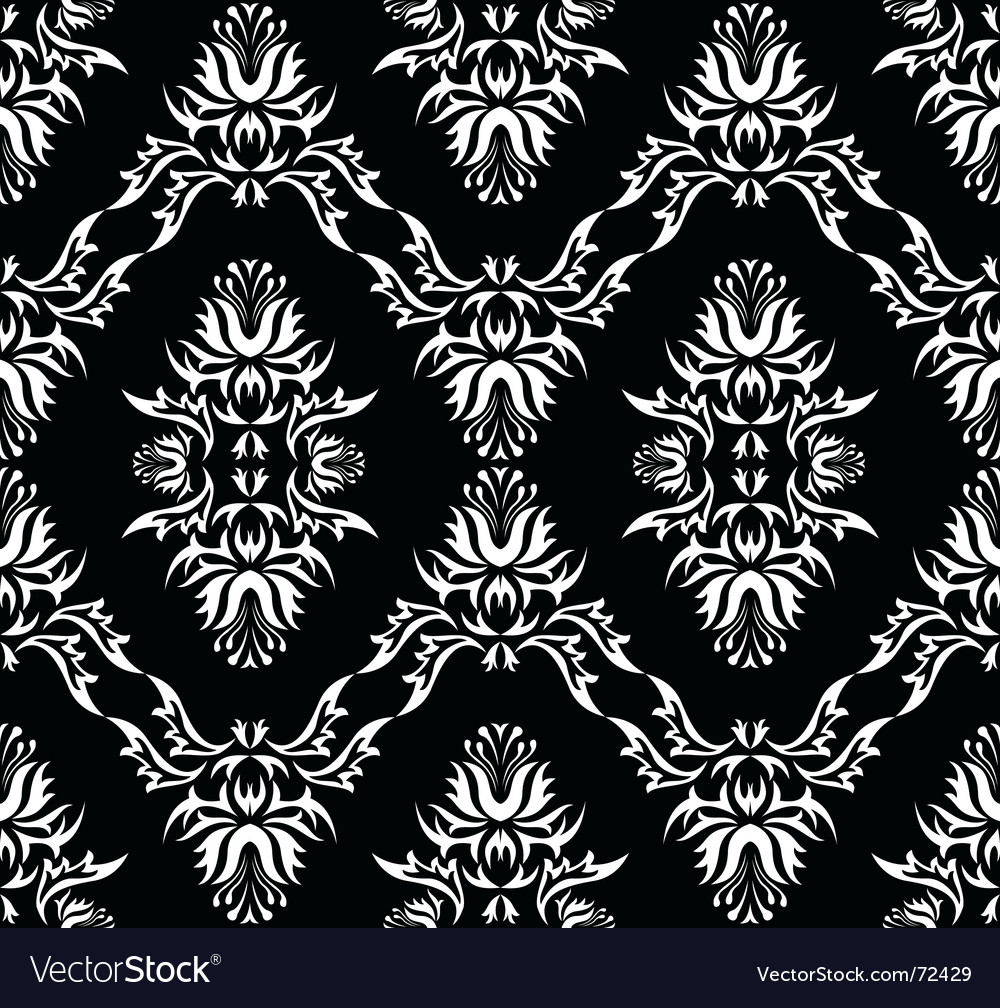 Damask victorian pattern vector | Price: 1 Credit (USD $1)
