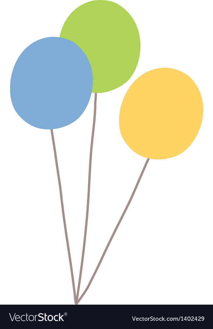 Icon ballon vector | Price: 1 Credit (USD $1)