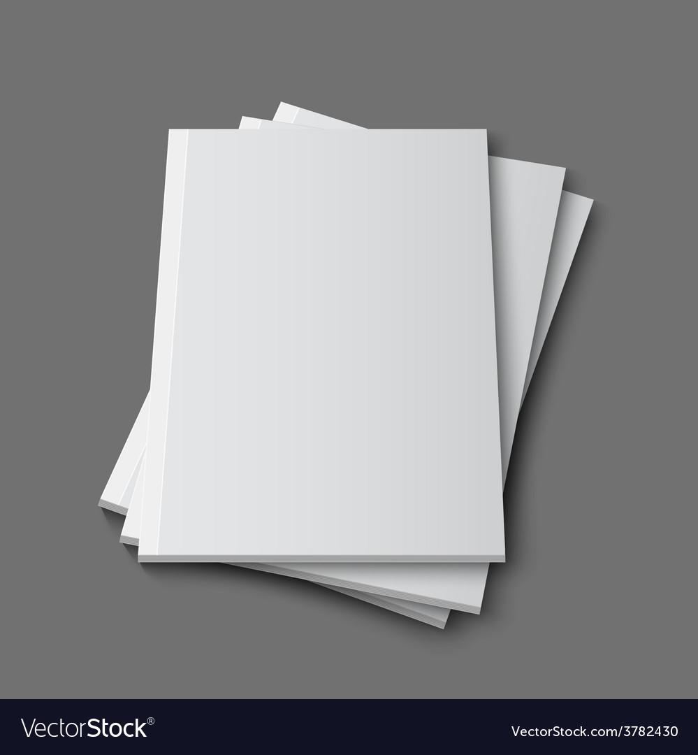 Blank empty magazine template vector   Price: 1 Credit (USD $1)