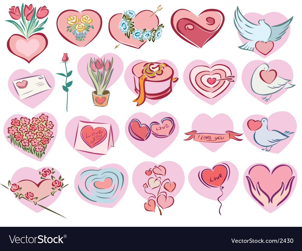 Gift collection vector | Price: 3 Credit (USD $3)
