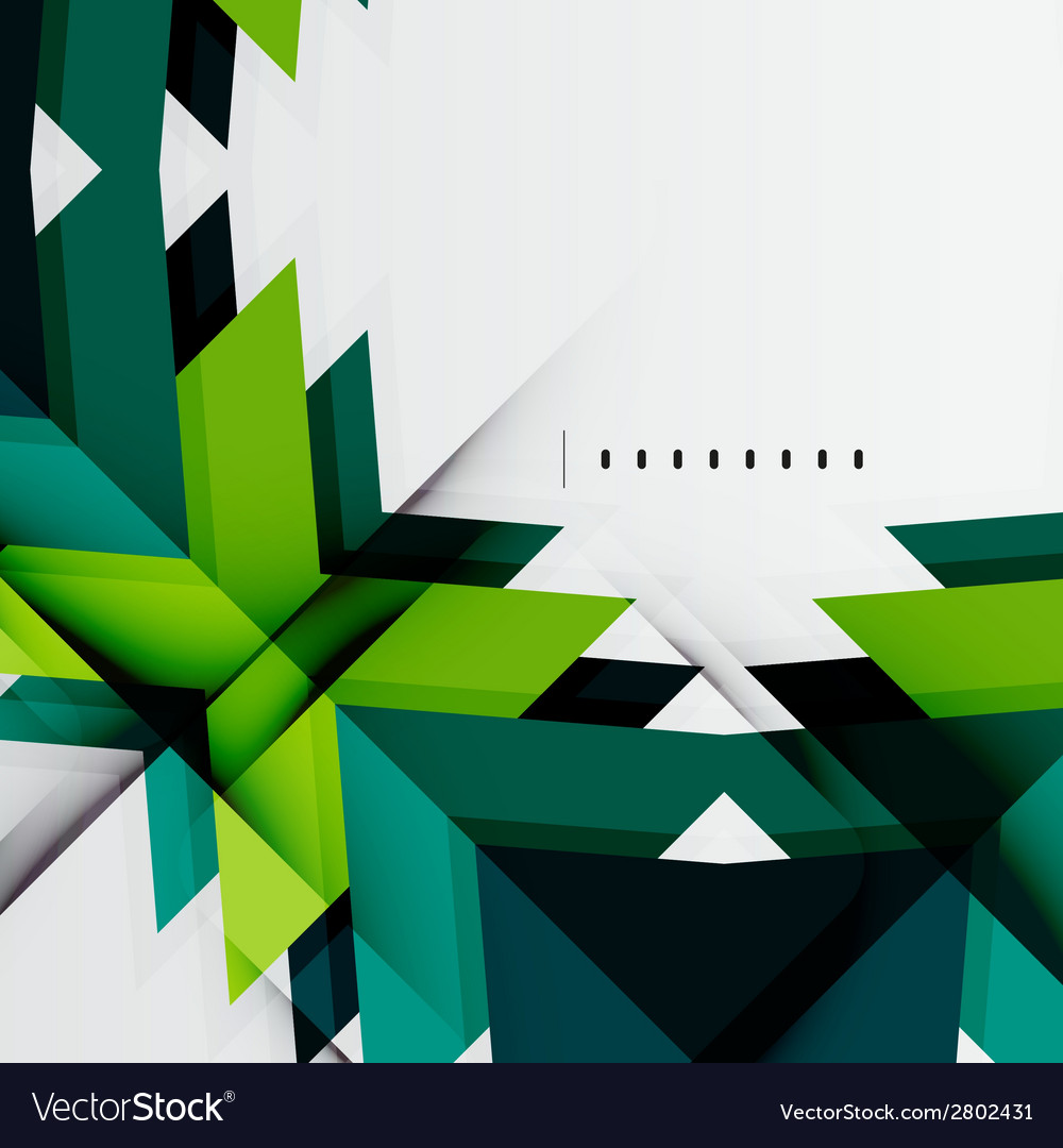Futuristic blue and green color shapes vector   Price: 1 Credit (USD $1)