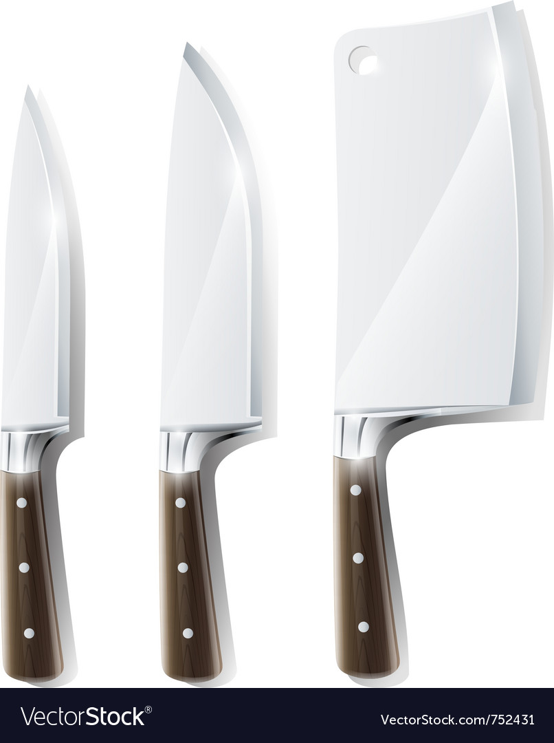 Kitchen knifes vector | Price: 3 Credit (USD $3)