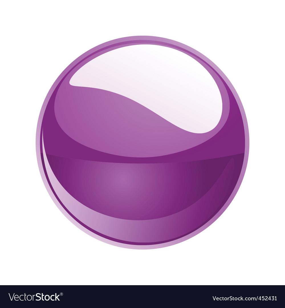 Shiny sphere 02 purple vector | Price: 1 Credit (USD $1)