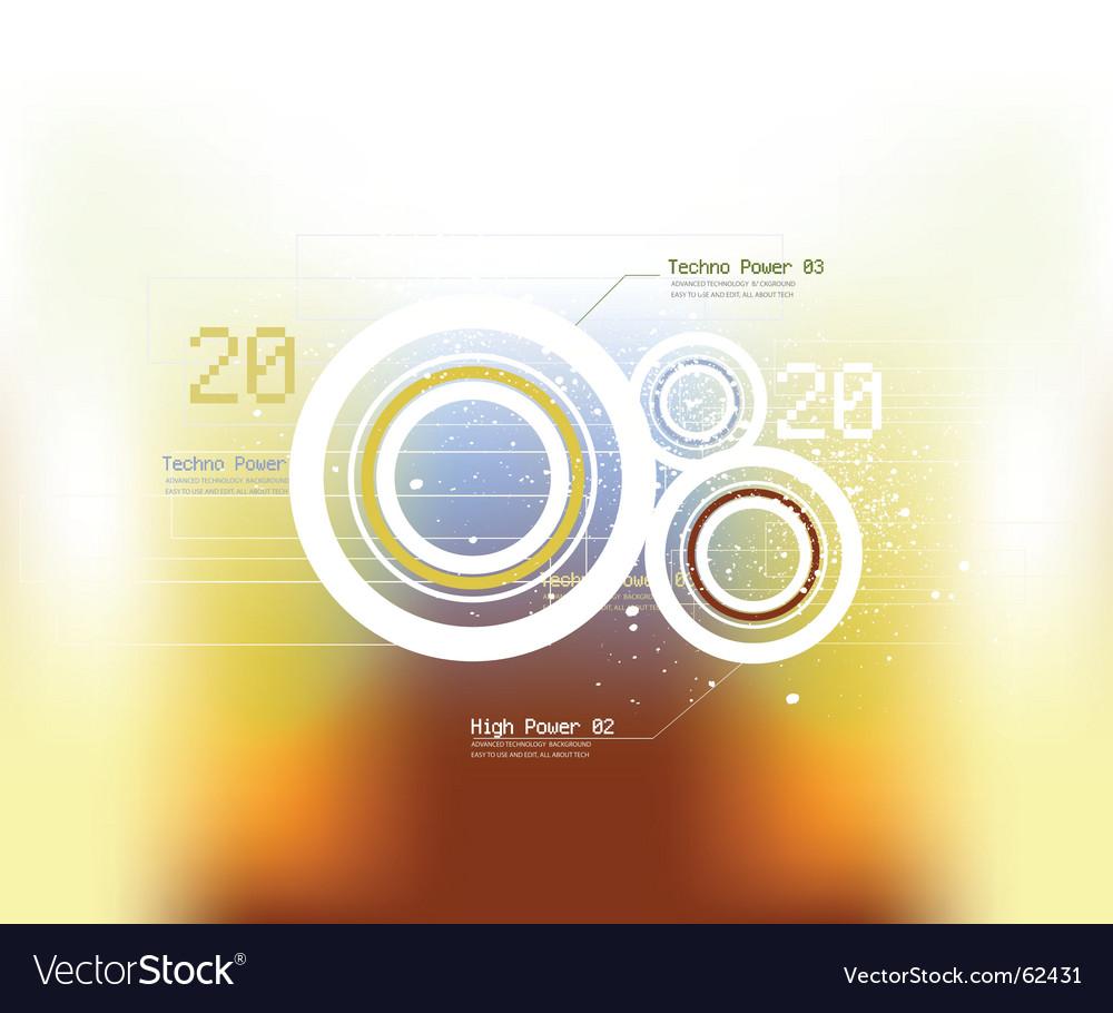 Techno background vector | Price: 1 Credit (USD $1)