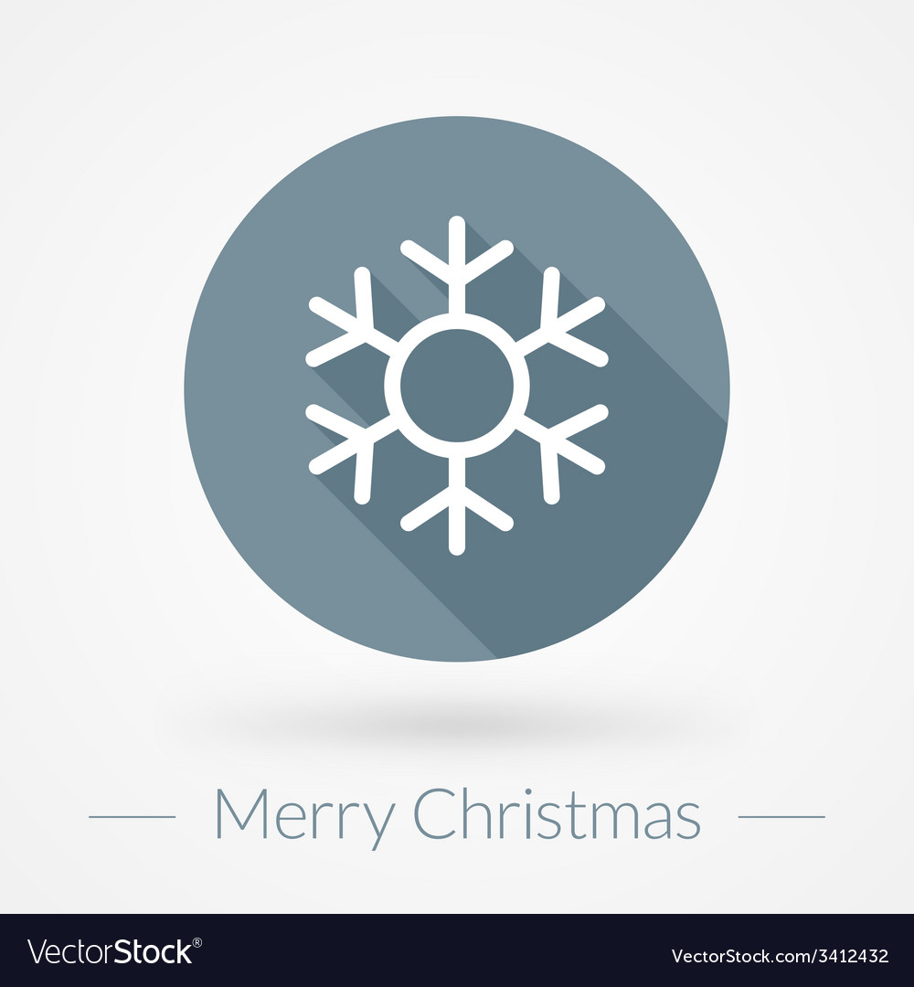 Christmas greeting card background in flat design vector   Price: 1 Credit (USD $1)