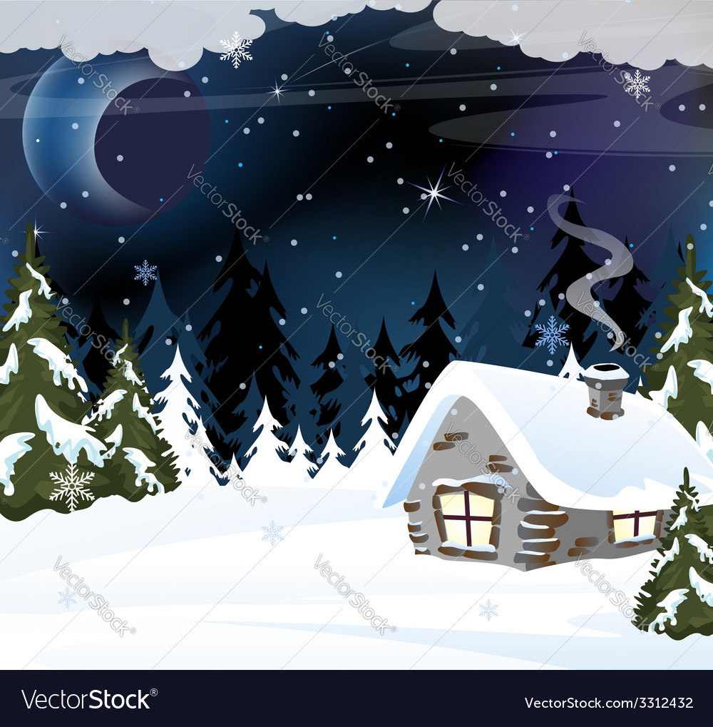Forester hut vector | Price: 3 Credit (USD $3)