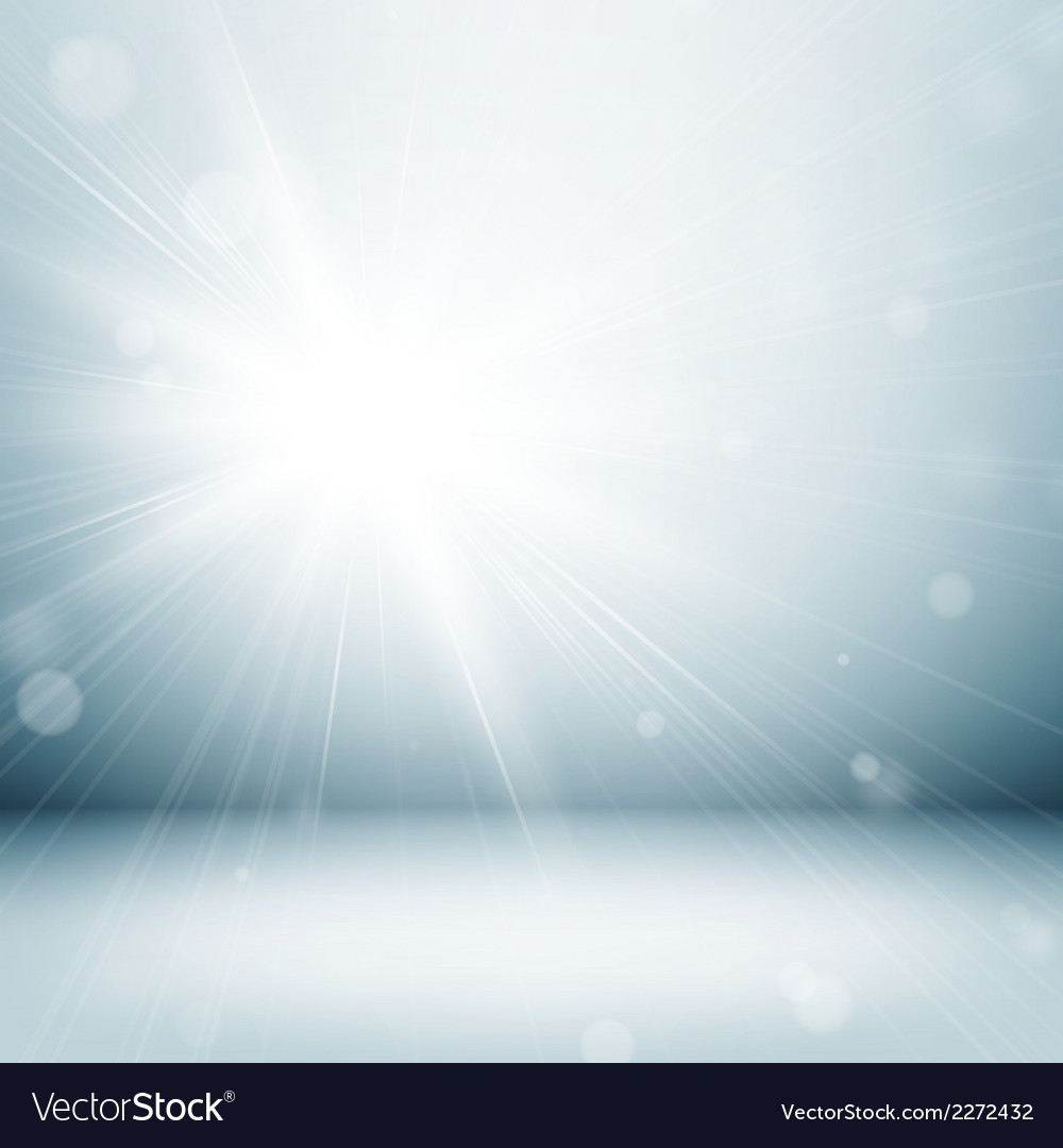 Light studio room vector