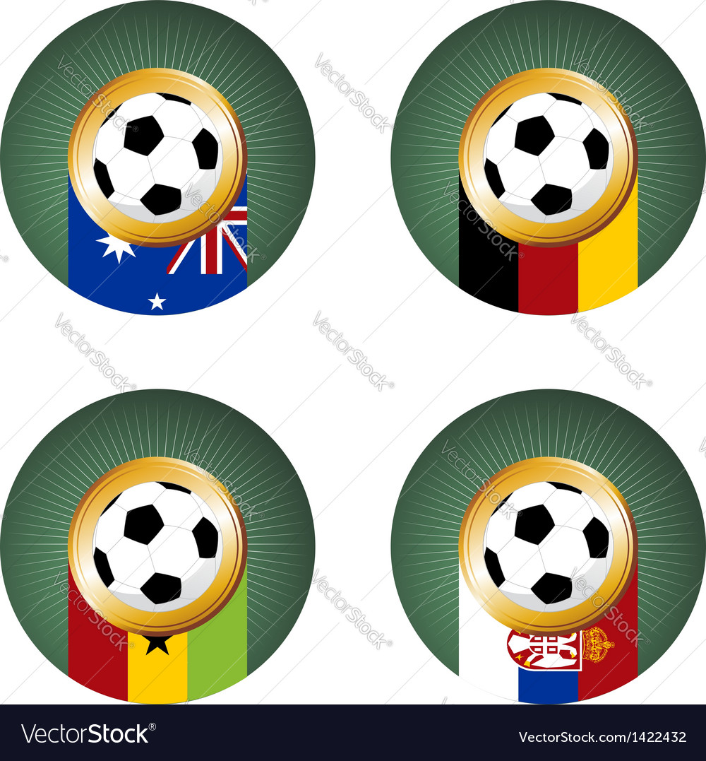 Soccer cup group composition vector | Price: 1 Credit (USD $1)