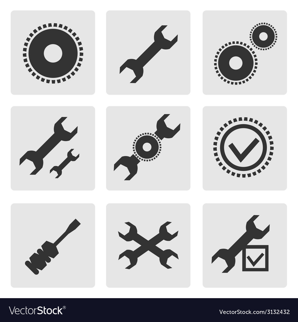 Tools set vector | Price: 1 Credit (USD $1)