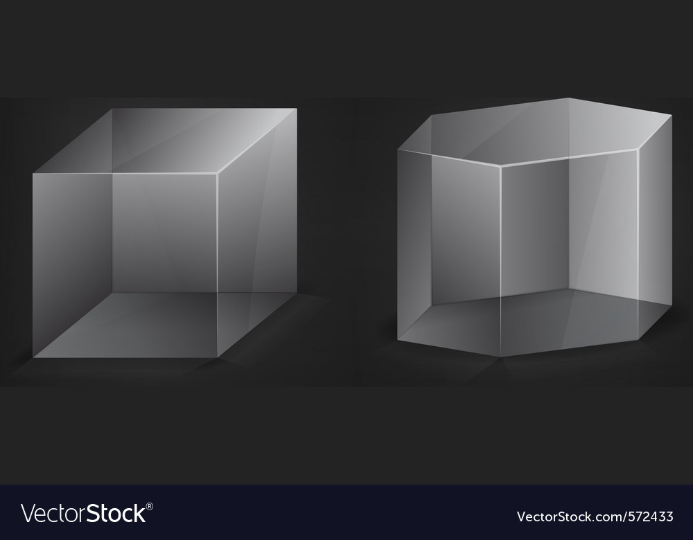 Abstract 3d shapes vector | Price: 1 Credit (USD $1)