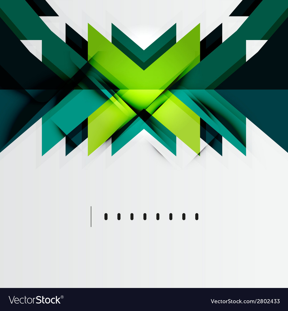 Futuristic blue and green color shapes vector | Price: 1 Credit (USD $1)
