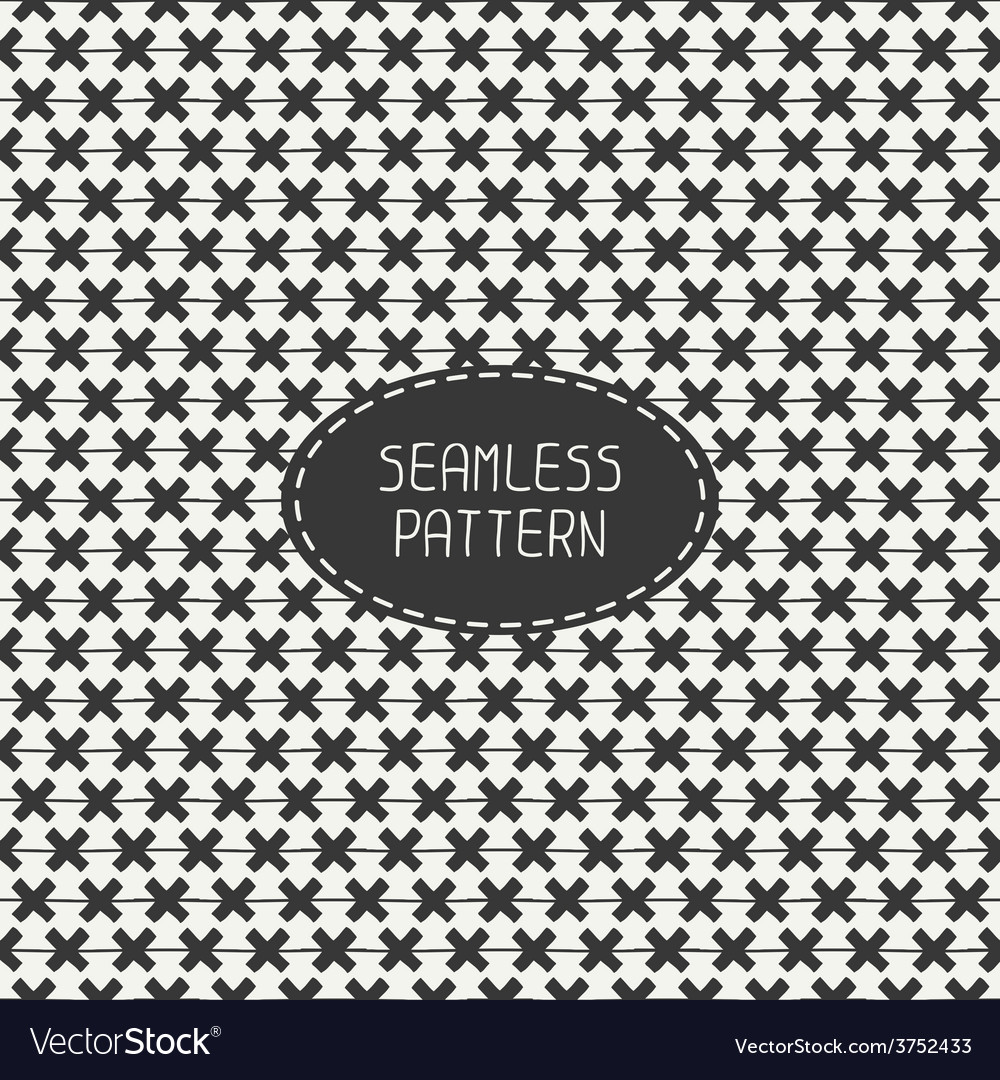 Seamless retro vintage geometrical hipster vector | Price: 1 Credit (USD $1)