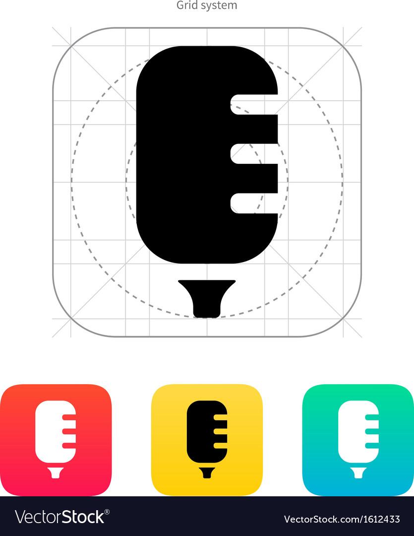 Studio microphone icon vector | Price: 1 Credit (USD $1)