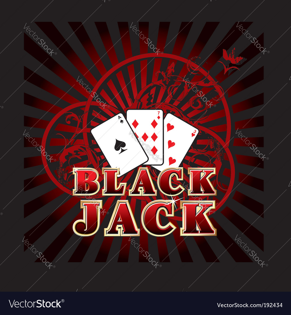 Black jack vector | Price: 1 Credit (USD $1)