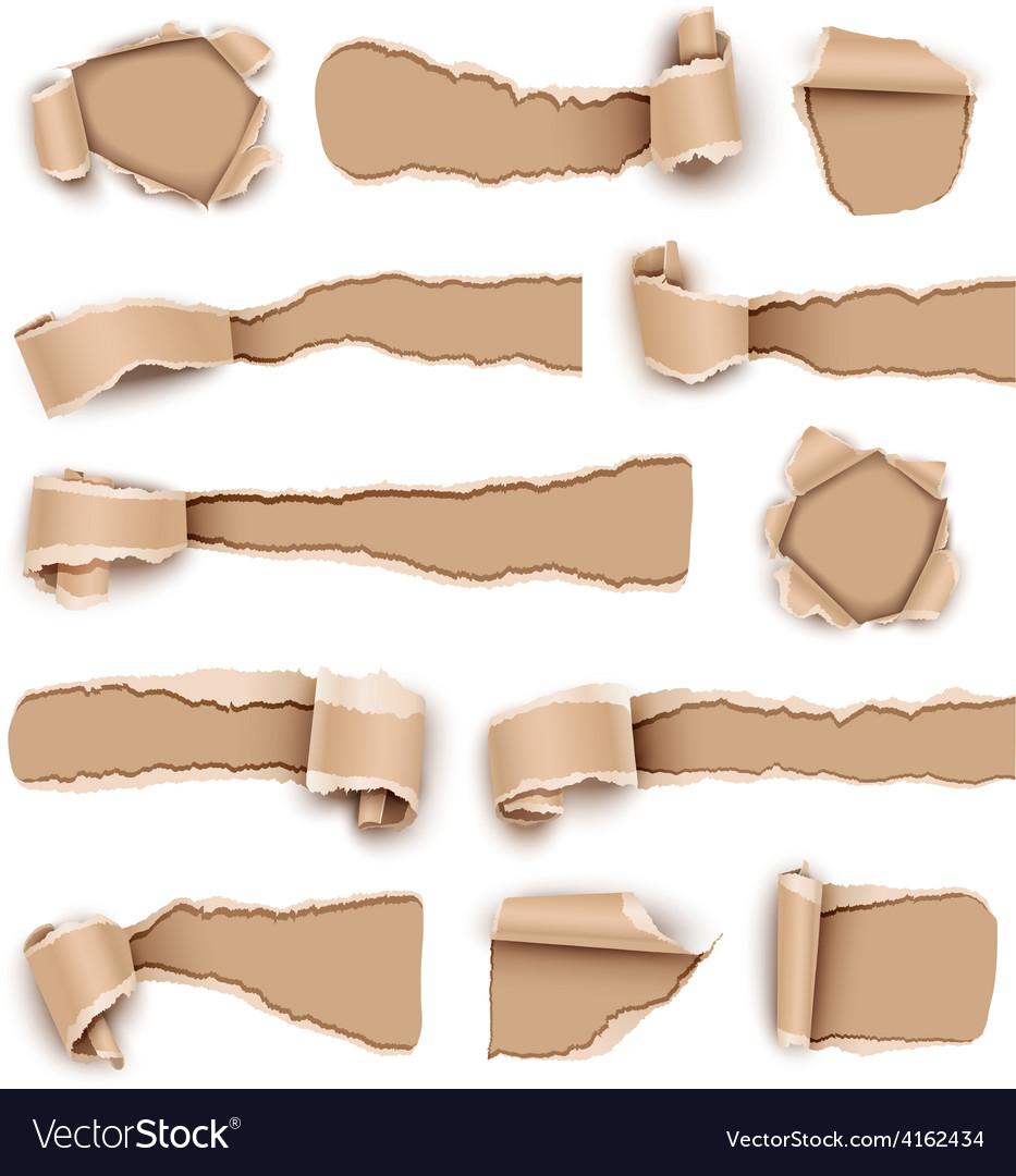 Torn paper vector | Price: 3 Credit (USD $3)