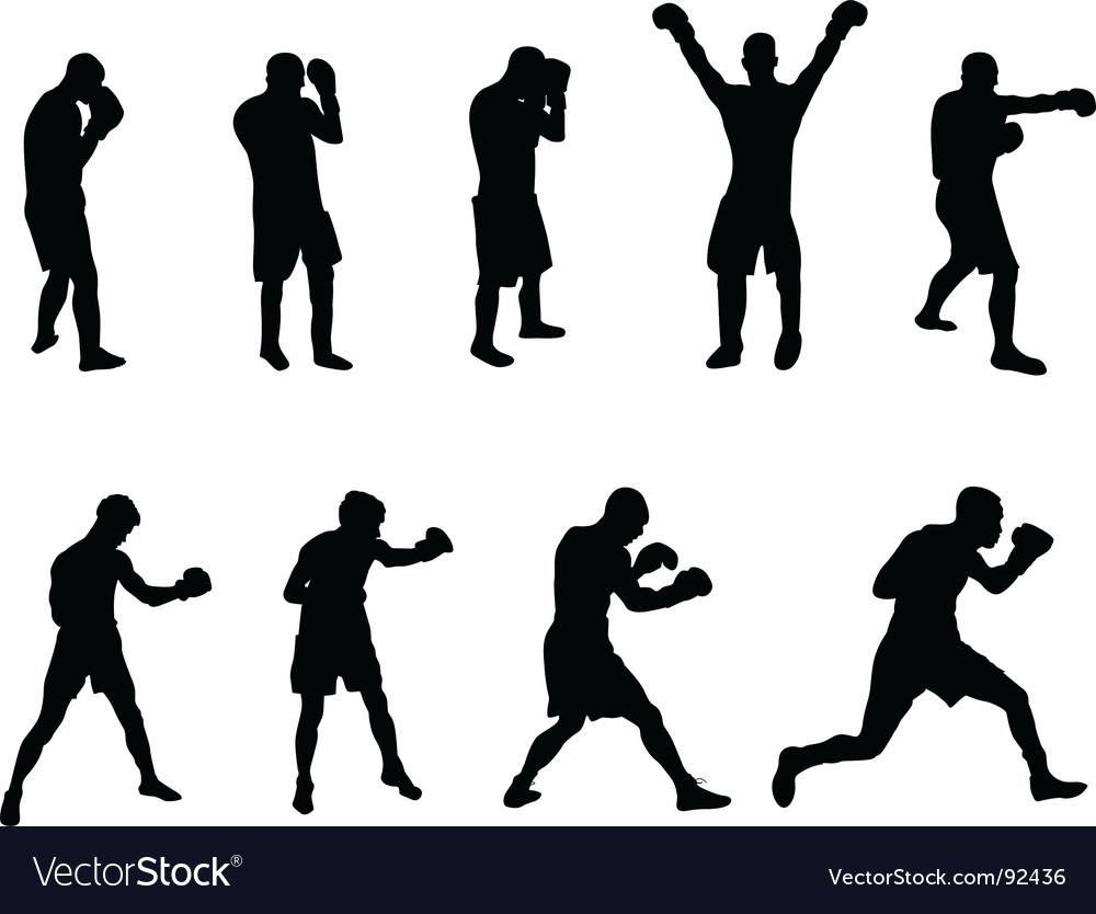 Boxers vector | Price: 1 Credit (USD $1)