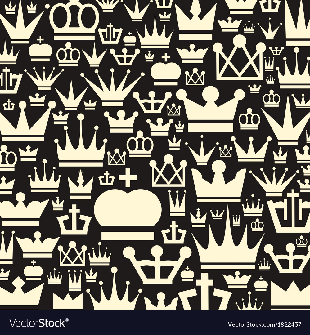 Crown a background vector | Price: 1 Credit (USD $1)