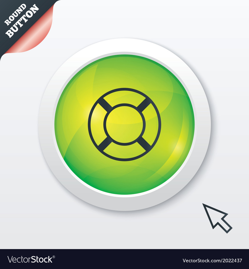 Lifebuoy sign icon life salvation symbol vector   Price: 1 Credit (USD $1)