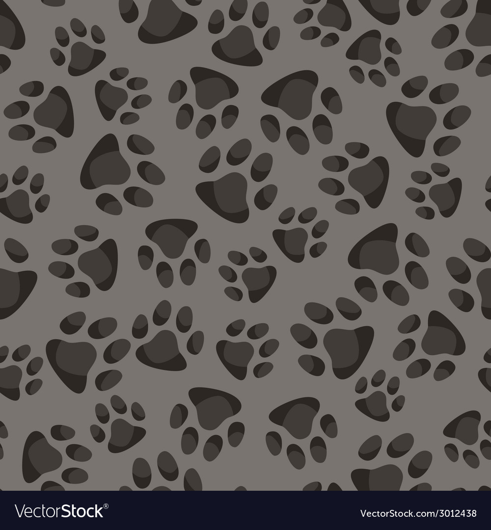 Seamless pattern background with abstract animal vector | Price: 1 Credit (USD $1)