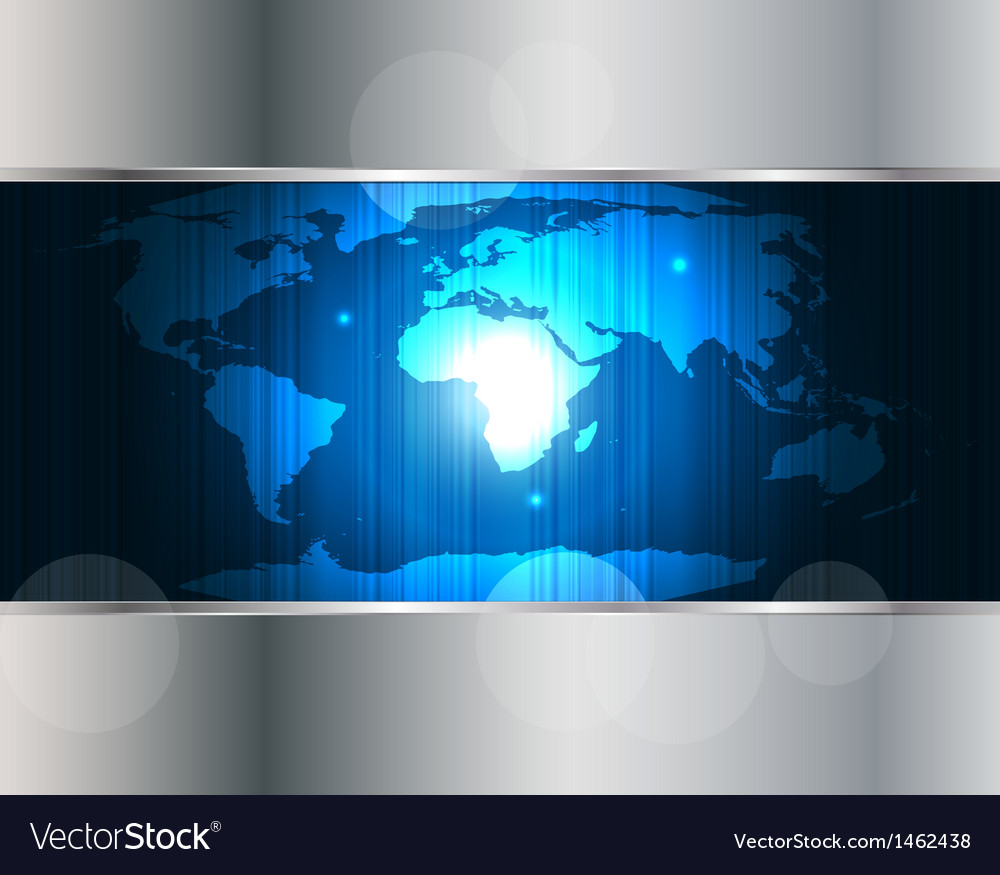 World map background vector | Price: 1 Credit (USD $1)