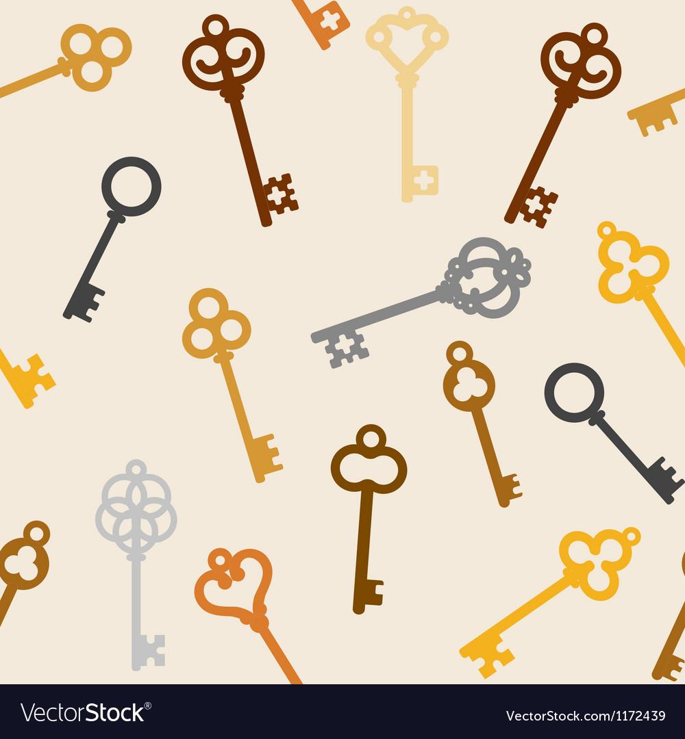 Antique skeleton keys vector | Price: 1 Credit (USD $1)