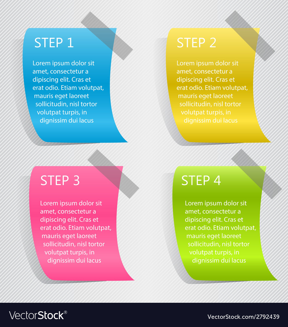 Modern infographic colorful design template vector   Price: 1 Credit (USD $1)