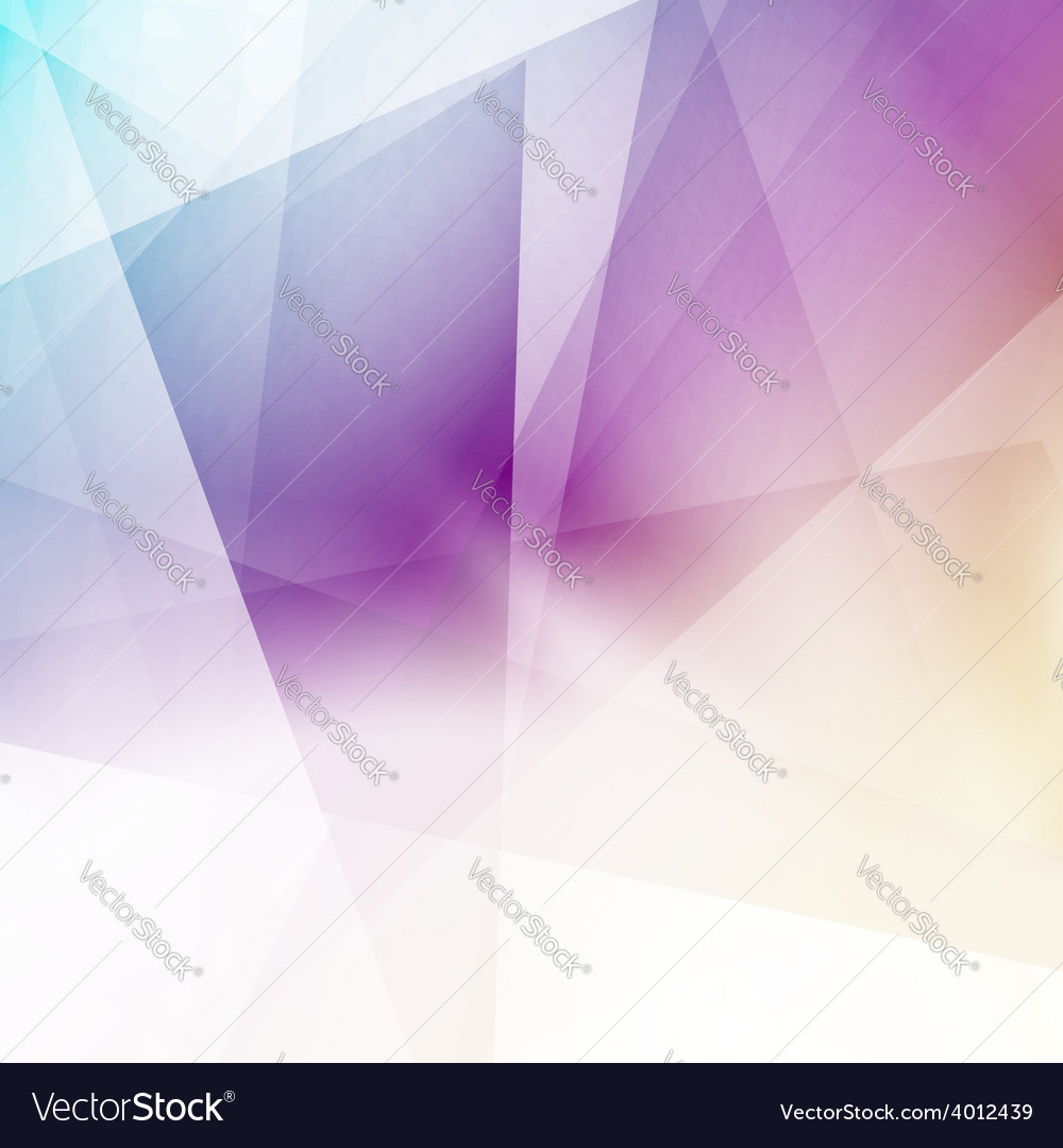 Modern triangular structure crystal background vector | Price: 1 Credit (USD $1)
