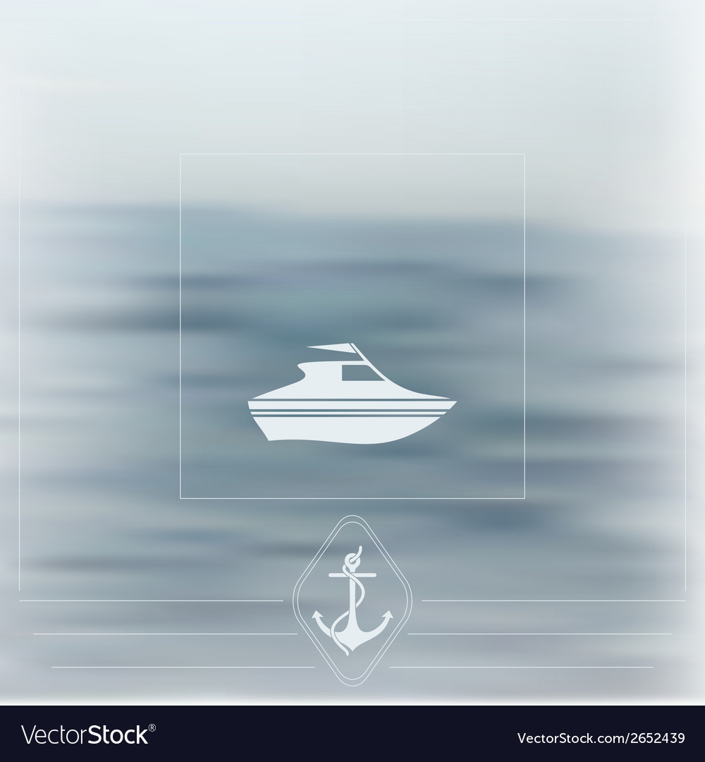 Sea theme vector | Price: 1 Credit (USD $1)