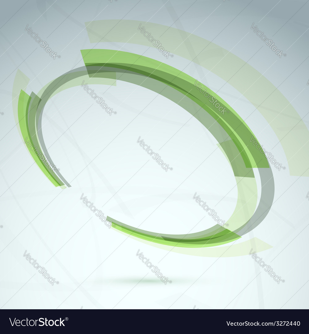 Green abstract spinning wheel element background vector | Price: 1 Credit (USD $1)