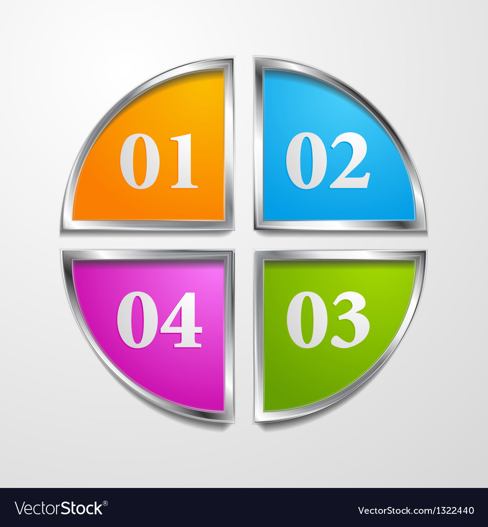 Multicolored tech design template vector | Price: 1 Credit (USD $1)