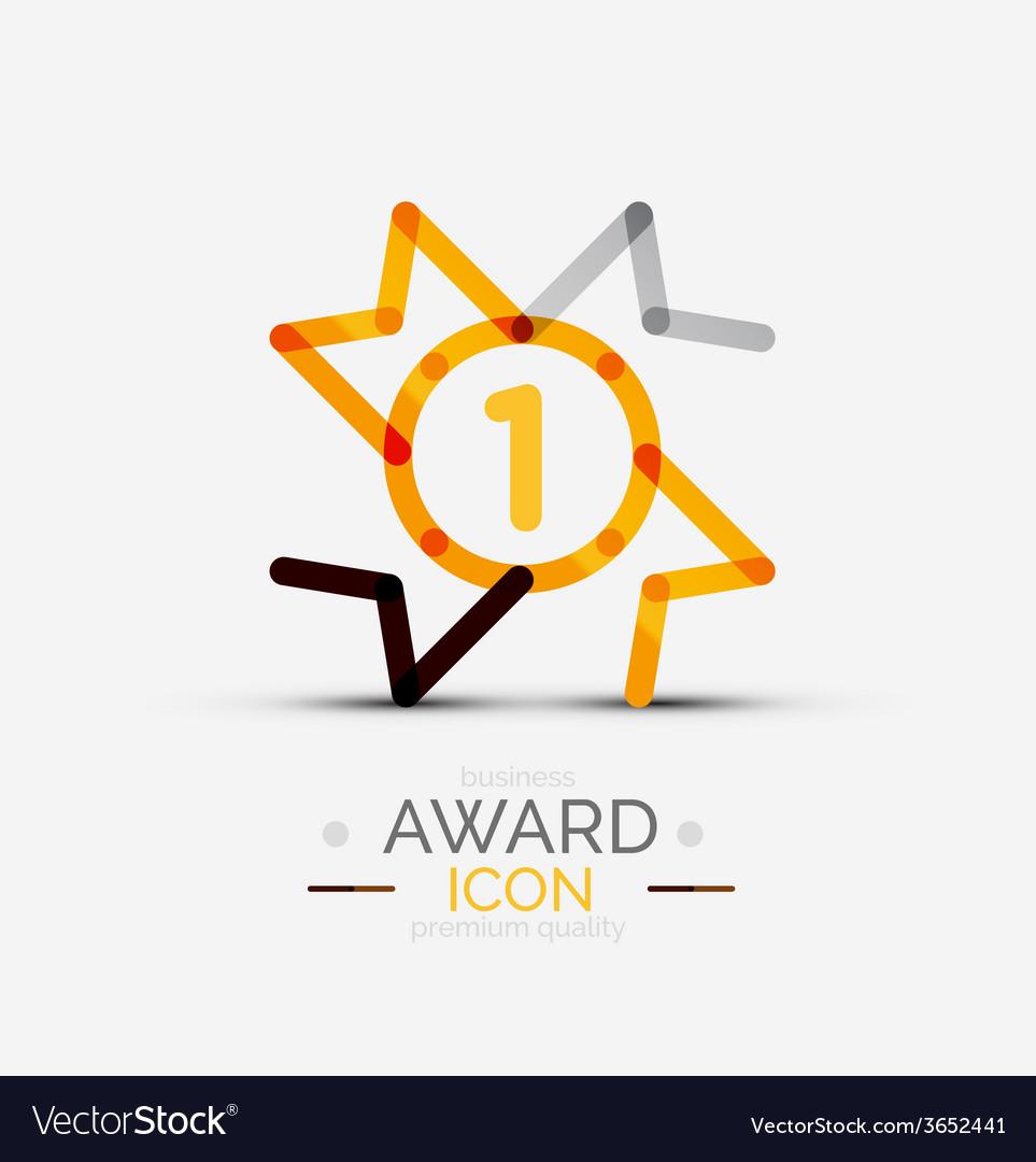 Award icon logo vector   Price: 1 Credit (USD $1)