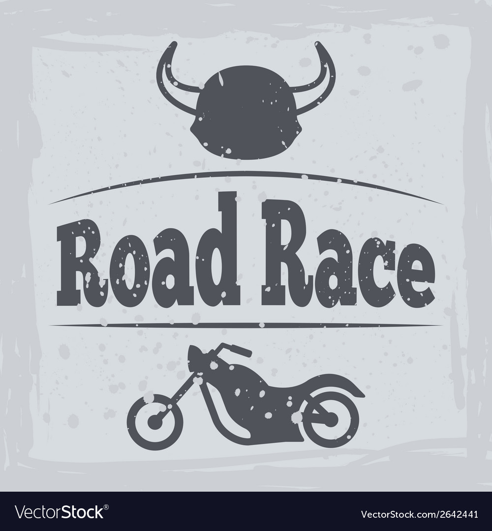 Motorcycle poster vector | Price: 1 Credit (USD $1)