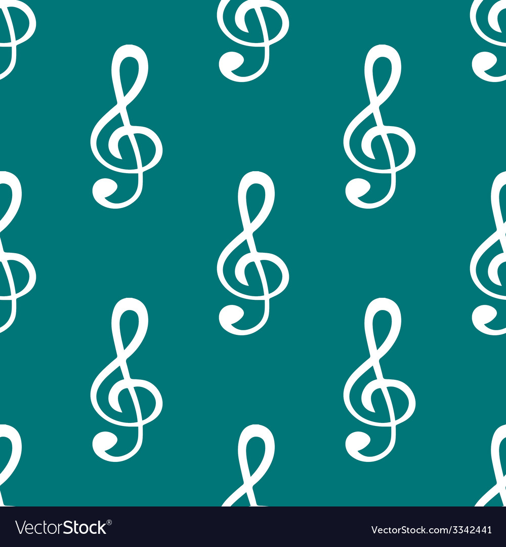 Music elements notes web icon flat design seamless vector   Price: 1 Credit (USD $1)