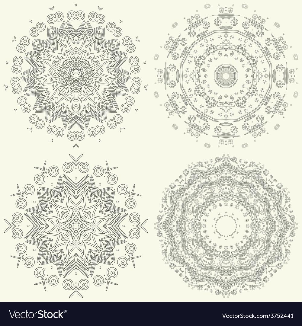 Ornamental pattern vector | Price: 1 Credit (USD $1)
