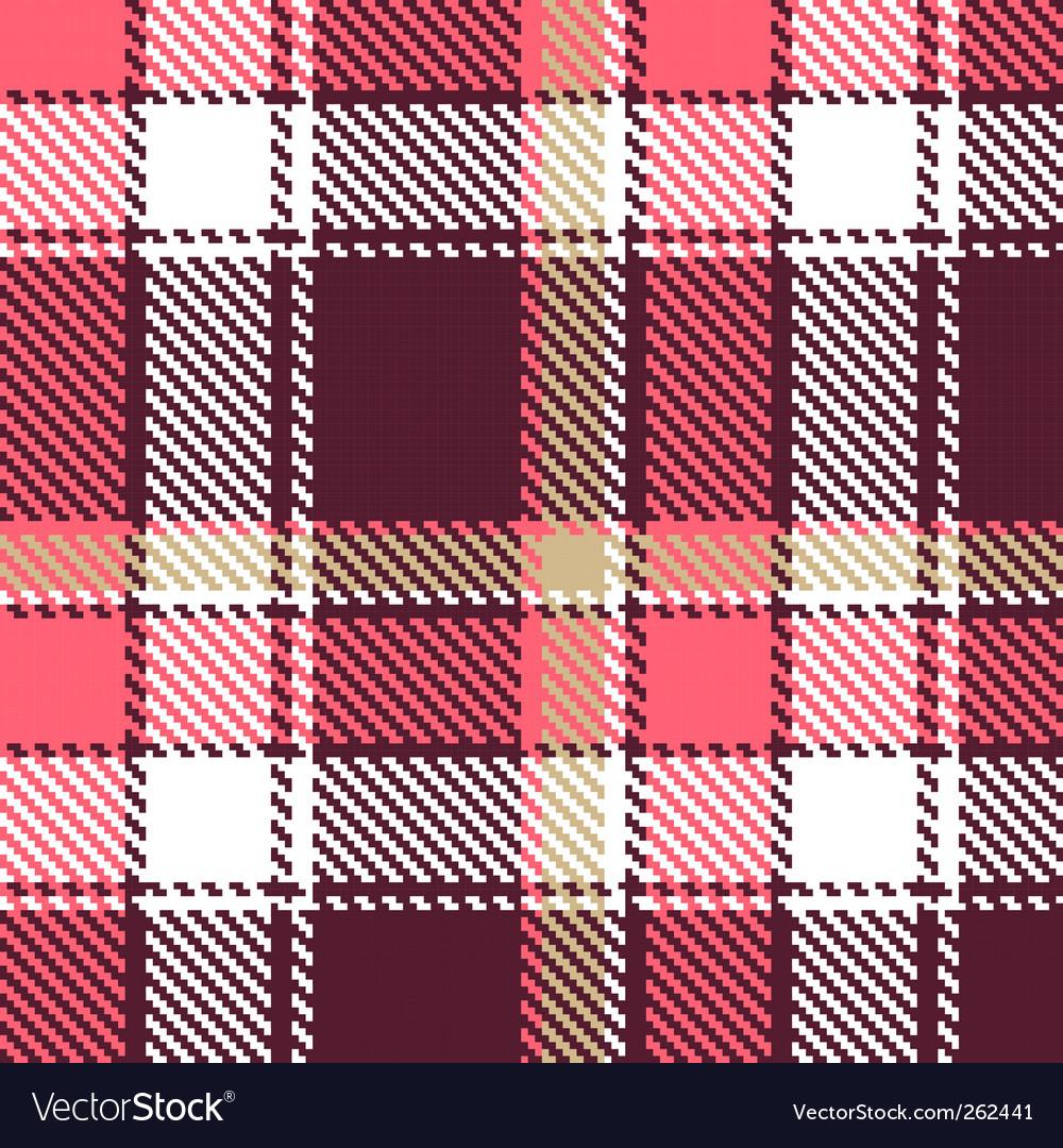 Seamless tartan vector | Price: 1 Credit (USD $1)