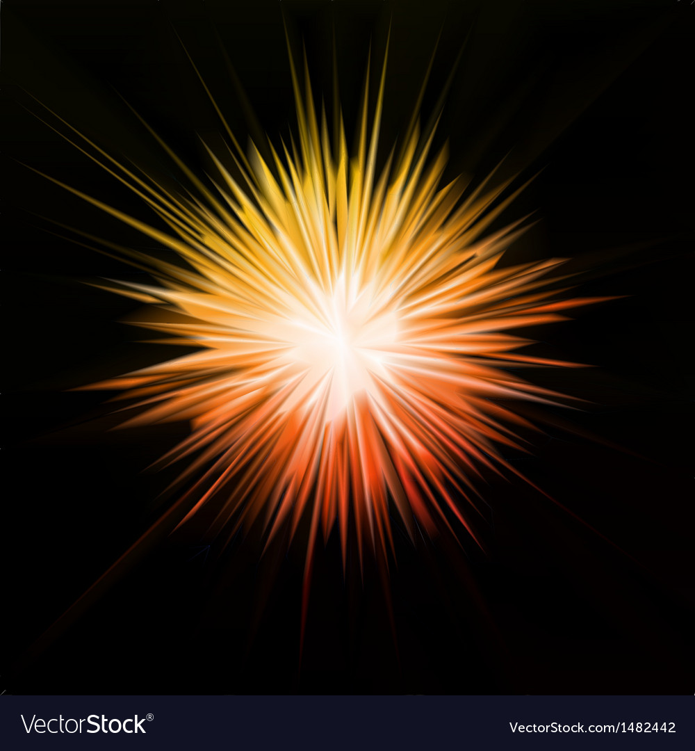 Abstract gold star vector | Price: 1 Credit (USD $1)